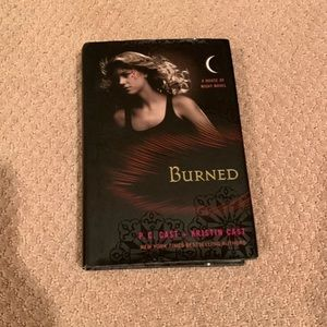 Burned: in the house of night book series